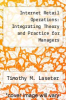 cover of Internet Retail Operations: Integrating Theory and Practice for Managers (1st edition)