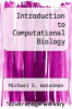cover of Introduction to Computational Biology (2nd edition)