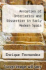 cover of Anxieties of Interiority and Dissection in Early Modern Spain