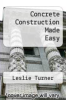cover of Concrete Construction Made Easy
