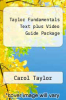 cover of Taylor Fundamentals Text plus Video Guide Package