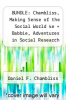 cover of BUNDLE: Chambliss, Making Sense of the Social World 4e + Babbie, Adventures in Social Research 8e: Chambliss, Making Sense of the Social World 4e + Babbie, Adventures in Social Research 8e (4th edition)