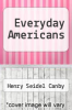 cover of Everyday Americans