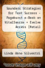 cover of Saunders Strategies for Test Success - Pageburst e-Book on VitalSource + Evolve Access (Retail Access Cards): Passing Nursing School and the NCLEX Exam (2nd edition)