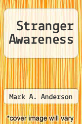 Cover of Stranger Awareness EDITIONDESC (ISBN 978-1456018320)