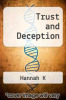 cover of Trust and Deception