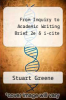 cover of From Inquiry to Academic Writing Brief 2e & i-cite (2nd edition)