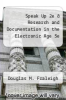 cover of Speak Up 2e & Research and Documentation in the Electronic Age 5e (2nd edition)