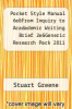 cover of Pocket Style Manual 6e&From Inquiry to Acadademic Writing Brief 2e&Generic Research Pack 2011 (6th edition)