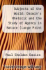 cover of Subjects of the World: Darwin`s Rhetoric and the Study of Agency in Nature (Large Print 16pt)