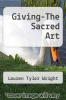 cover of Giving-The Sacred Art