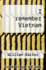 cover of I remember Vietnam