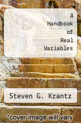 Cover of A Handbook of Real Variables EDITIONDESC (ISBN 978-1461264095)