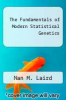cover of The Fundamentals of Modern Statistical Genetics (1st edition)
