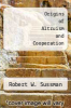 cover of Origins of Altruism and Cooperation