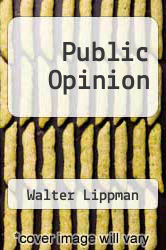 Cover of Public Opinion EDITIONDESC (ISBN 978-1463718039)