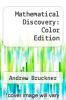 cover of Mathematical Discovery: Color Edition