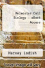 cover of Molecular Cell Biology - eBook Access (7th edition)