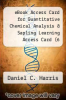 cover of eBook Access Card for Quantitative Chemical Analysis & Sapling Learning Access Card (6 Month) (8th edition)