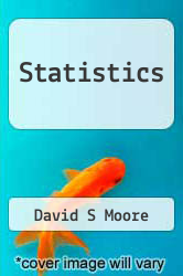 Cover of Statistics  (ISBN 978-1464123733)