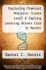cover of Exploring Chemical Analysis (Loose Leaf) & Sapling Learning Access Card (6 Month) (5th edition)