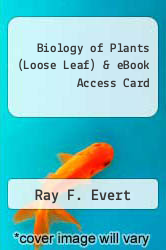 Cover of Biology of Plants (Loose Leaf) & eBook Access Card 8 (ISBN 978-1464129933)