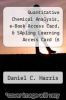cover of Quantitative Chemical Analysis, e-Book Access Card, & SApling Learning Access Card (6 Month) (8th edition)
