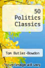 cover of 50 Politics Classics