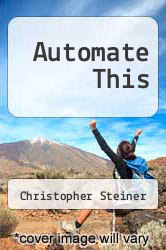 Cover of Automate This EDITIONDESC (ISBN 978-1469086064)