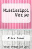 cover of Mississippi Verse (1st edition)