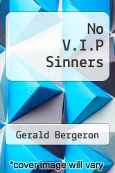 Cover of No V.I.P Sinners EDITIONDESC (ISBN 978-1469919416)
