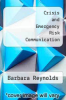 cover of Crisis and Emergency Risk Communication