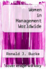 cover of Women in Management Worldwide (3rd edition)