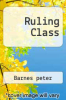 cover of The Ruling Class
