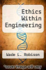 cover of Ethics Within Engineering