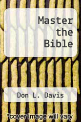Cover of Master the Bible EDITIONDESC (ISBN 978-1475175165)