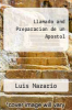 cover of Llamado and Preparacion de un Apostol