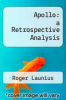 cover of Apollo: a Retrospective Analysis