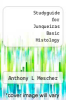 cover of Studyguide for Junqueiras Basic Histology