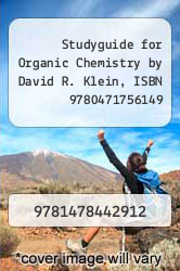 Cover of Studyguide for Organic Chemistry by David R. Klein, ISBN 9780471756149 EDITIONDESC (ISBN 978-1478442912)