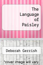 Cover of The Language of Paisley EDITIONDESC (ISBN 978-1479704125)