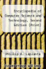 cover of Encyclopedia of Computer Science and Technology, Second Edition (Print) (2nd edition)