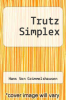 cover of Trutz Simplex