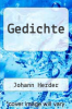 cover of Gedichte