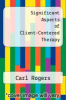 cover of Significant Aspects of Client-Centered Therapy
