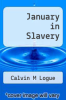 cover of January in Slavery