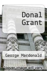Cover of Donal Grant  (ISBN 978-1484948873)