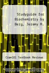 Cover of Studyguide for Biochemistry by Berg, Jeremy M. EDITIONDESC (ISBN 978-1490200378)