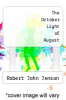 cover of The October Light of August