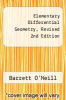 cover of Elementary Differential Geometry, Revised 2nd Edition (2nd edition)